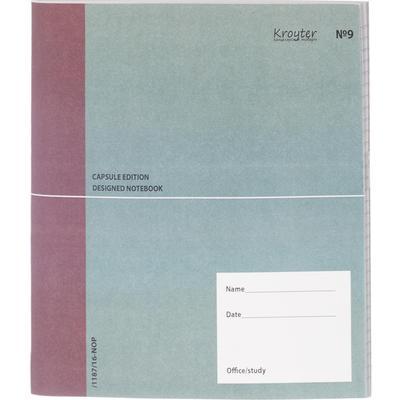 Бизнес-тетрадь Kroyter Офис 40 листов разноцветная в линейку на сшивке (200х200 мм)