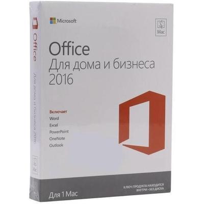 Программное обеспечение Microsoft Office (W6F-00613/-00820) MacHome 1PK2016