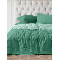 Постельное белье Унисон Garibbean blue (1.5-спальное, 2 наволочки 70х70 см, сатин)