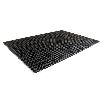 Покрытие грязезащитное резиновое 100х150х1,7см черное