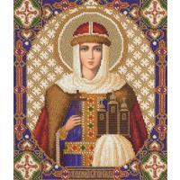 Набор для вышивания Panna Икона Святой равноапостольной княгини Ольги Российской 25,5x30,5см