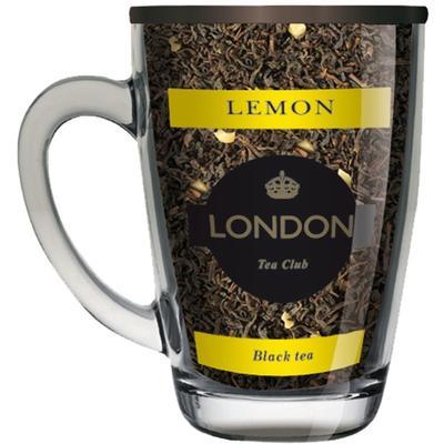 Чай подарочный London Tea Club  Лимон листовой черный 70 г