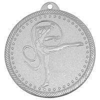 Медаль призовая 2 место Художественная гимнастика 50 мм