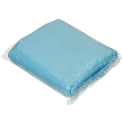 Простыня одноразовая нестерильная 200х70 см СМС (голубая, плотность 15 г, 20 штук в упаковке)