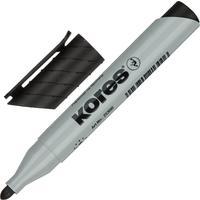 Маркер для бумаги для флипчартов Kores XF1 черный (толщина линии 3 мм)  круглый наконечник