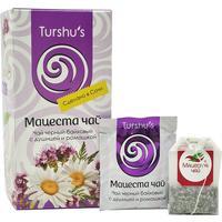 Чай Мацеста черный с ромашкой и душицей 20 пакетиков