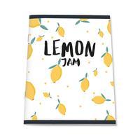 Тетрадь общая №1 School Lemon Jam А5 48 листов в клетку на скрепке