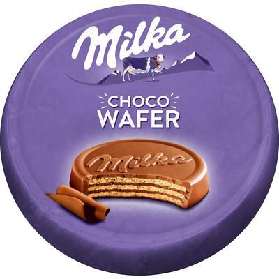 Вафли Milka с какао покрытые молочным шоколадом 30 г (30 штук в упаковке)