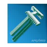 Станок для бритья операц. поля с 2 лезвиями, Apexmed 100шт/уп