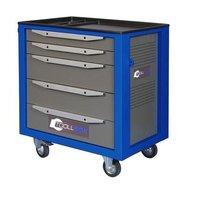 Тележка для инструмента Toollbox TBS-5 серая/синяя (800x468x775 мм)