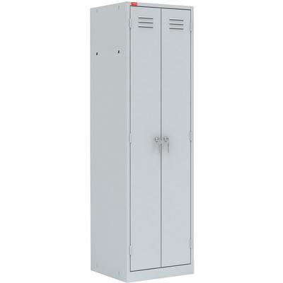 Шкаф для одежды металлический ШРМ-АК медицинский (600х500х1860 мм)