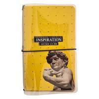 Записная книжка Be Smart Inspiration A6+ 64 листа разноцветная комбинированная на скрепке (108x175 мм)
