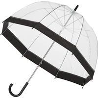Зонт-трость Эврика механический прозрачный (91668)