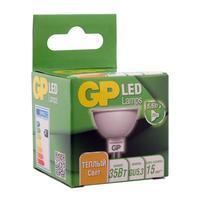 Лампа светодиодная GP 5.5 Вт GU5.3 спот 2700К теплый белый свет
