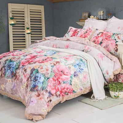 Постельное белье СайлиД D-184 (2-спальное с европростыней, 2 наволочки 50х70 см, 2 наволочки 70х70 см, сатин)