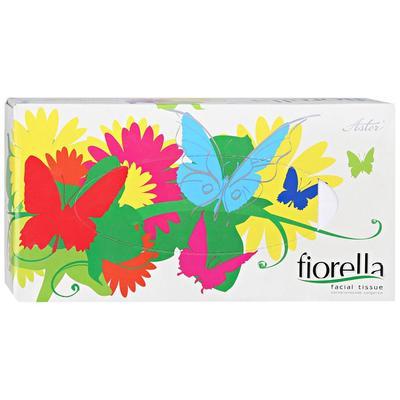 Салфетки косметические Aster Fiorella 2-слойные (100 штук в упаковке)