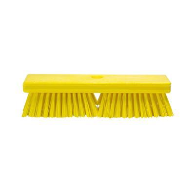 Щетка для пола Haccper 4502Y 25.4 см жесткая щетина (желтая)