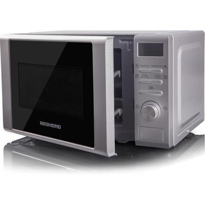 Уценка. Микроволновая печь Redmond RM-2002D серебристая. уц_тех