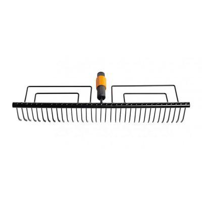 Грабли прямые Fiskars QuikFit 1000656 металл 58 см (без черенка)