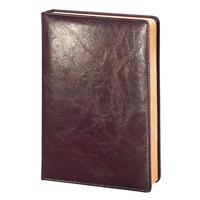 Ежедневник недатированный InFolio Challenge искусственная кожа А5 бордовый (140х200х22 мм)