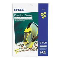 Фотобумага для цветной струйной печати Epson C13S041287 односторонняя (глянцевая, А4, 255 г/кв.м, 20 листов)