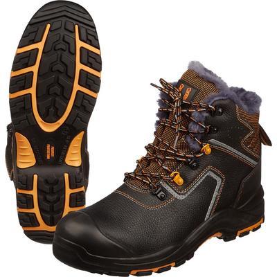 Ботинки утепленные Perfect Protection натуральная кожа черные размер 47