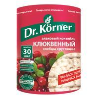 Хлебцы Dr.Korner Злаковый коктейль клюквенный пшеничные 100 г
