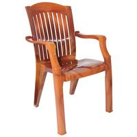 Кресло пластиковое Премиум-1 №7 Лессир коричневое