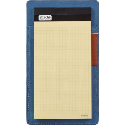 Блокнот-планшет Attache Selection Review A6 50 листов в клетку на сшивке (195x105 мм)