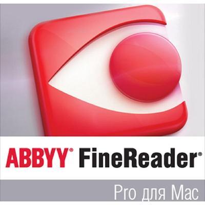 Программное обеспечение  ABBYY FineReader Pro для Mac