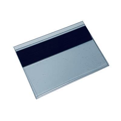 Ценникодержатель полочный навесной на магните 70x40 мм (100 штук в упаковке)