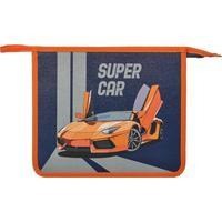 Папка для тетрадей №1 School Super car А5 на молнии