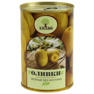 Оливки Amado без косточек 300 г
