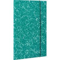 Папка на резинке Attache А4 15 мм картонная до 200 листов зеленая (плотность 380 г/кв.м)