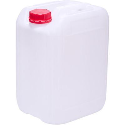Канистра ПНД 21.5 л белая с крышкой