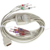 Кабели для приборов ЭКГ GE MAC-500/1200/5000