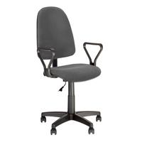 Кресло офисное Prestige GTP J серое (ткань, пластик)