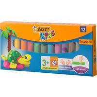 Пластилин классический Bic Kids 12 цветов 140 г
