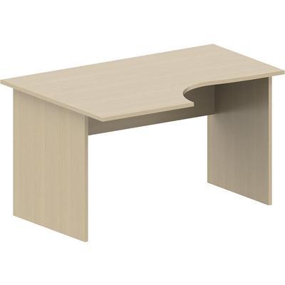 Стол письменный Рондо СТ3-14 левый (береза, 1400x900x760 мм)
