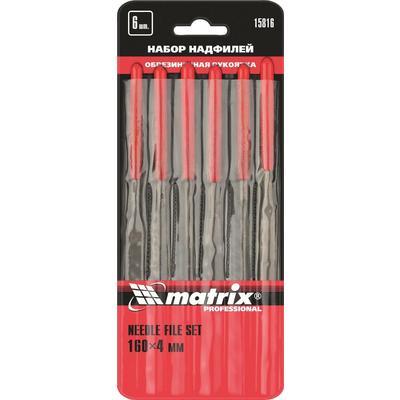 Набор надфилей Matrix 160х4 мм 6 штук (15816)