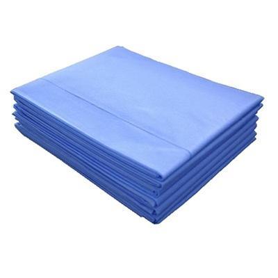 Простыня одноразовая Инмедиз нестерильная 200x70 см СМС (голубая, плотность 25 г, 10 штук в упаковке)