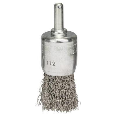 Щетка кистевидная волнистая INOX 25 мм для дрели Bosch (2608622127)
