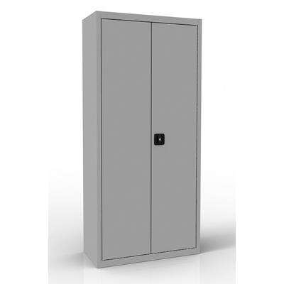 Шкаф для бумаг металлический ШРА-21 850.4 серый (850х400х1850 мм)