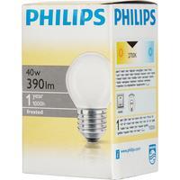 Лампа накаливания Philips 40 Вт E27 шаровидная матовая 2700 К теплый белый свет
