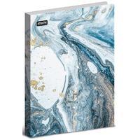 Скоросшиватель пластиковый с пружинным механизмом Attache Selection Fluid А4+ до 120 листов голубой (толщина обложки 0.45 мм)