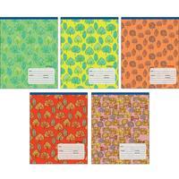 Тетрадь школьная Канц-Эксмо Листопад блестки А5 12 листов в линейку (обложка в ассортименте)