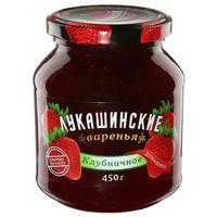 Варенье Лукашинские клубничное 450 г