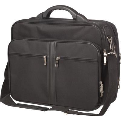 Конференц-сумка Алекс из полиэстера черного цвета (987)