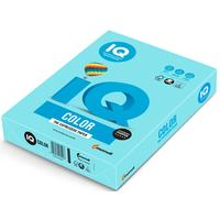 Бумага цветная для печати IQ Color голубая пастель MB30 (А4, 160 г/кв.м, 250 листов)
