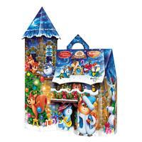 Новогодний сладкий подарок Волшебный замок 1500 г